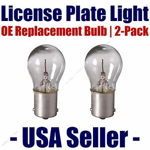 License Plate Bulb 2pk OE Replacement Fits Listed Rolls-Royce Vehicles - 1141