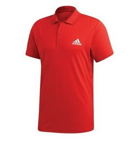Adidas Aeroready Club Rib Polo Tennis Shirt GK7012 - SIZE LARGE - FREE SHIPPING