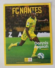 Magazine Match Football FCNA Nantes / Monaco du 25 Octobre 2019