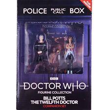 More details for doctor who twelfth 12th doctor & bill potts eaglemoss figurine companion set #4