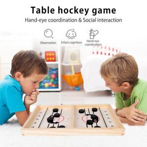 Jeu de Table Air Hockey en Bois