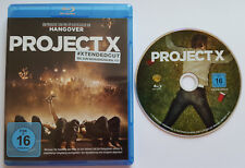 ⭐⭐⭐⭐ EXTENDED CUT ⭐⭐⭐⭐ PROJECT X ⭐⭐⭐⭐ Blu Ray ⭐⭐⭐⭐