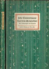 Felix Timmermans, Aus dem schönen Lier, m. 16 Zeichnungen, Insel Nr. 401 EA 1929