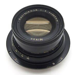 Nikon Apo-Nikkor 360mm F9 Large Format Lens - UK Dealer