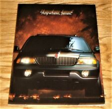 Original 1998 Lincoln Navigator Foldout Sales Brochure 98