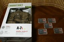 MOULTRIE,A-7i Trail Camera,with 5 SD cards.
