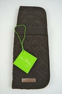 VERA BRADLEY Curling and Flat Iron Cover in Expresso *NWT