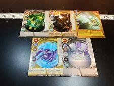 BAKUGAN Battle Brawlers 5 card lot  (cards)