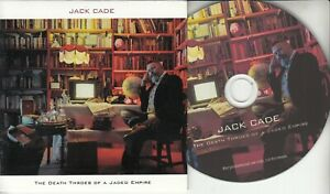 JACK CADE The Death Throes Of A Jaded Empire 2021 UK 8-trk promo test CD