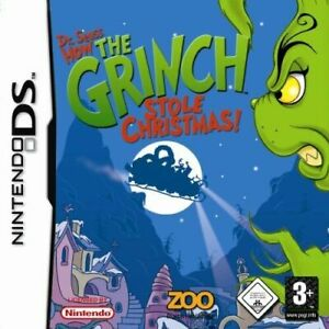Dr Seuss: How The Grinch Stole christmas ds