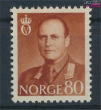Norway 425 with hinge 1958 King Olaf V. (9339747