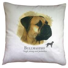 Bullmastiff Dog   100% Cotton Cushion Cover with Zip   Howard Robinson   Gift