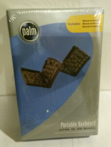 Palm portable keyboard m100 III VII series NOS not opened 2000 Pilot device PDA