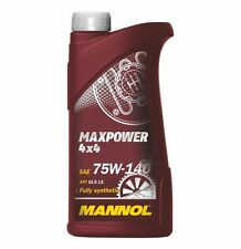 1l MANNOL MAXPOWER OLIO API gl-5 LS 75w140 75w-140 JEEP HYUNDAI NISSAN KIA