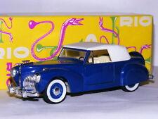 Rio 43 1941 Lincoln Continental Blue/White 1/43