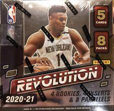 2020-21 20-21 PANINI REVOLUTION Baloncesto NBA pasatiempo Caja Sellada