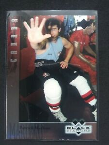 96-97 UD BLACK DIAMOND DOUBLE DIAMOND RC PATRICK MARLEAU #103 ROOKIE SJ SHARKS