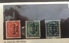 Bavaria O58-59, O62 Used Small Lot (SCV=$3.30)