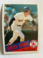 WADE BOGGS TOPPS #350 - 1985