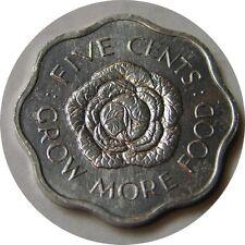 elf Seychelles  5 Cents 1972 FAO   Cabbage Head