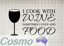 Unbranded Kitchen Food & Wine Wall Stickers