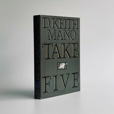 New listing Take Five • 1st Edition, First Printing • D. Keith Mano • Bridge, Horn, Heaven