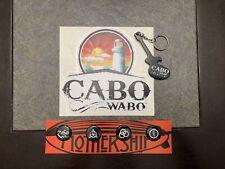 Led Zeppelin Mothership Pin Set Sammy Hagar Cabo Wabo Sticker Keychain New