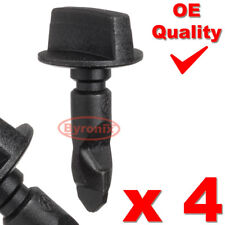 4 Traino Paraurti Posteriore Rimorchio EYE COVER Clip Turn Pin VW POLO GOLF PASSAT 6Q0807643