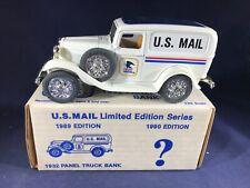 C3-70 ERTL 1:25 SCALE DIE CAST BANK - 1932 PANEL TRUCK - U.S.MAIL POSTAL SERVICE