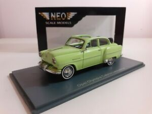 OPEL OLYMPIA CABRIOLET LIMOUSINE NEO SCALE MODELS 1/43