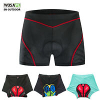 Men's Cycling Shorts Padded Underwear Bike Bicycle MTB Underpants shockproof