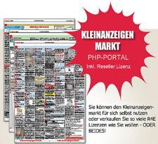(Klein-) Anzeigenmarkt, PHP-Portal - diverse Lizenzarten