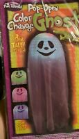 Pop-Open Color Change Ghost - Happy Smile 18 inches tall fun world. Holloween