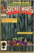 Marvel Super-Heroes Secret Wars #4-1984 vg+ 4.5 Super Heroes Bob Layton