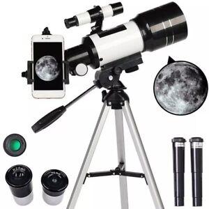 Professional Astronomical Telescope Monocular 150X Refractive Space Telescope
