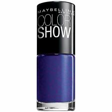 Maybelline Color Show Nail Lacquer Polish BLUE FREEZE 350
