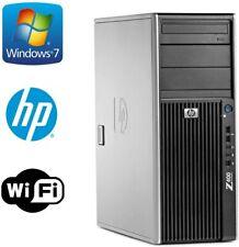 HP Z400 Workstation Xeon W3550 3.06GHz 12GB 128GB SSD+1TB WIFI KB+MOUSE WIN10