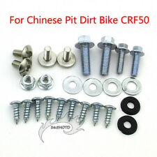 Fairing Tank Screw Set Pitbike Plastic Body Panel Bolts For CRF50 Dirt Pit Bike
