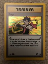 Carte Pokemon KOGA/'S PIDGEY 80//132 Gym Challenge Wizard EDITION 1 NEUF