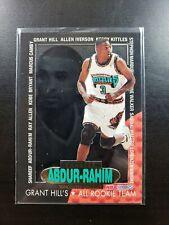 1996-97 Hoops Grant Hill's All Rookie Team Shareef Abdur-Rahim RARE Insert Card