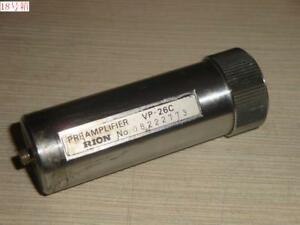 RION VP-26C Vibration Meter Preamplifier For VM-82 Vibration Meter