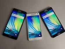 Samsung Galaxy A7 SM-A700 - 16GB - Navy + Galaxy A5 SM-A500 White 3 in 1 Lot