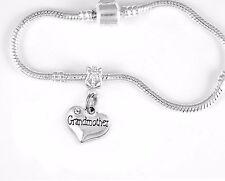 Grandmother bracelet European style Grammy bracelet grandmother bracelet  glamma