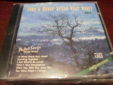 POCKET SONGS KARAOKE DISC PSCDG1353 THEYLL NEVER BREAK YOUR HEART CD+G MULTIPLEX
