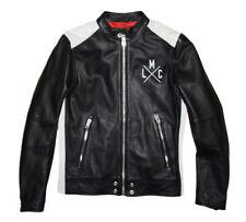 Diesel L-fyfe Leather Jacket Size M 100 Authentic