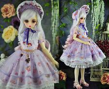1/4 bjd msd mdd girl doll dress outfits set super dollfie dream luts #SD-132M
