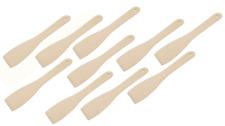10 x Holz Pfannenwender, Bratenwender, Küchenwender, Wender