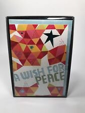 16 HALLMARK A WISH FOR PEACE Christmas Cards & Envelopes New Sealed Free Ship!