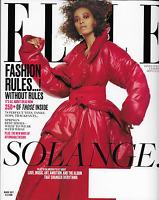 Solange Elle Magazine Knowles Spring Fashion Budget Design Harlem Ashley Biden