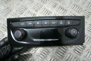 2016 VAUXHALL ASTRA K HEAT AC A/C SWITCH CLIMATE CONTROL PANEL 39042438 REF3117